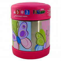 FUNtainer Stainless Steel Food Jar − Butterfly