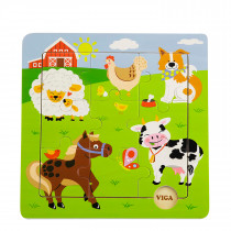 Discovery Puzzles Farm Animals