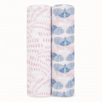 Classic 2 Pack Swaddles - Deco