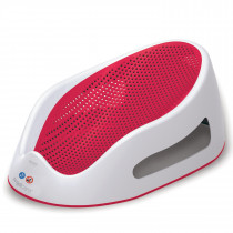Soft Touch Bath Support-Coral Red