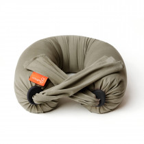 Pregnancy Pillow in Dusty Olive / Black