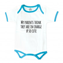 Body Suit: My Parents Think They Are In Charge-Blue
