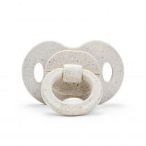 Bamboo Pacifier - Lily White - Silicone Orthodontic