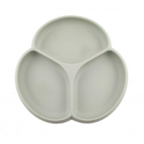 Silicone Suction Plate - Sage