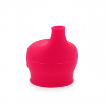 Silicone Sippy Top Elephant - Red