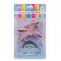 Rainbows and Unicorns Cookie Cutter Set
