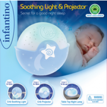 WOM SOOTHING LIGHT & PROJECTOR(BLUE)