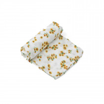 Deluxe Swaddle-Ditsy Sunflower
