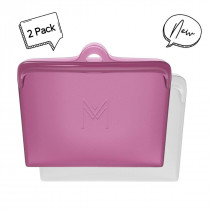 MONTIICO PACK & SNACK BAGS - ROSE