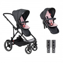 Voyager Buggy Double - Blush