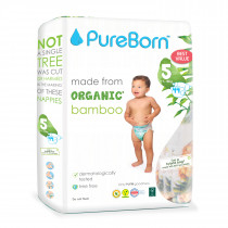 PureBorn Size 5 value pack nappy 11to18Kg 44 pcs- Daisys