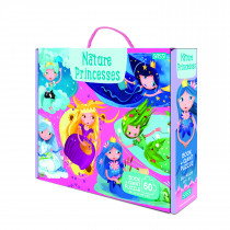 Giant Puzzle And Book-Nature Princesses