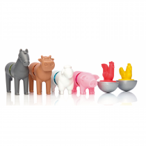 My First Farm Animals - Magnetic Discovery Building Set