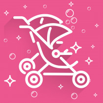 Sparkle VIP for Strollers - Double Stroller