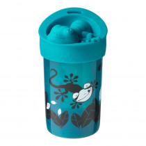 No Knock Cup with Removable Lid - Teal