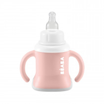 3-in-1 Evolutive Training Cup  Old Pink
