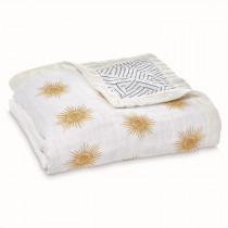 Silky Soft Dream Blanket Golden Sun