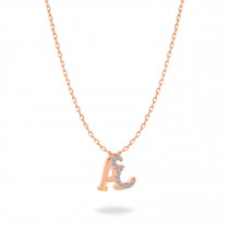 Baby Initial Pendant  Letter A, تعليقة أطفال بحرف ع