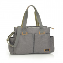 Travel Storksak Shoulder Bag − Grey