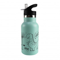 Stainless Steel Bottle 350ml - Dino