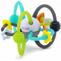 SHAKE & TEETHE FLEXIBLE RATTLE BALL