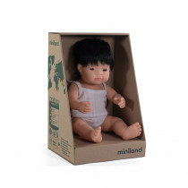 Baby Doll Asian Boy 38cm