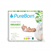 Pureborn NB Single 0-4.5kg 34's - Flowers