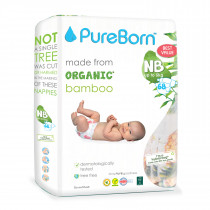 PureBorn New born value 0 to 4.5Kg 68's - Tropic