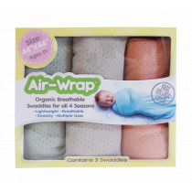 Old Fashioned Air Wrap - Cactus Color (Pale Green, Pale gray, Pale orange)