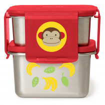 Stainless Steel Lunch Kit - Monkey