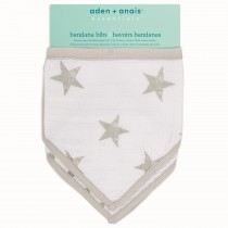 ADEN 2-Pack Bandana Bibs Dusty