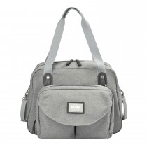 Geneva II Changing Bag -Heather Grey