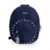 Kids School Backpack ABC  Navy White