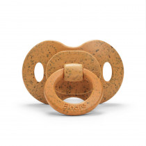 Bamboo Pacifier - Gold - Silicone Orthodontic