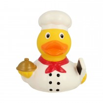 Bath Toy-Chef Duck -White