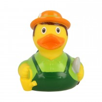 Bath Toy-Gardener Duck -Green