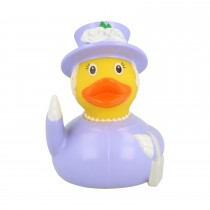 Bath Toy-The Queen Duck - Grey/White