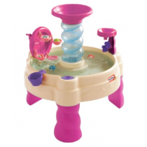 Spiralin' Seas Water Table- Pink