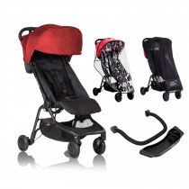 Mountain Buggy NANO Combo أحمر ياقوتي