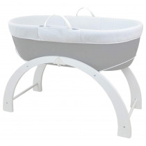 Baby Sleeper Grey Base + 2-in-1 Curve Stand