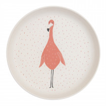 Plate - Mrs. Flamingo