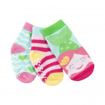 Baby Terry 3 pc Sock set - Marietta the Mermaid