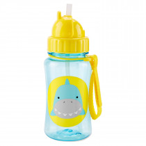 Zoo Straw Bottle -Shark