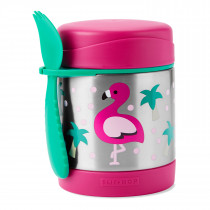 Zoo Food Jar-Flamingo