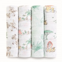 Classic 4-Pack Disney Swaddles - The Lion King
