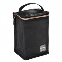 Isothermal Meal Pouch - Black/Pink/Gold