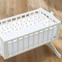 Mesh Crib Liner − Tiny Tatty Teddy