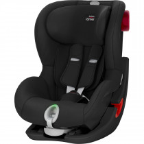 Britax Römer KING II LS BLACK SERIES, From 9M-4YEARS,Group 1 - Cosmos Black