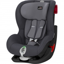 Britax Römer KING II LS BLACK SERIES, From 9M-4YEARS, Group 1 - Storm grey