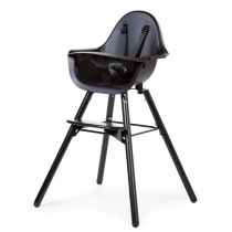 Evolu 2 Chair 2-in-1 + Bumper - Black Black